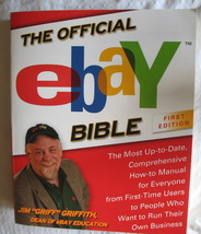 Official eBay Bible First Edition Jim Griff Griffith Paperback  Like New... - $9.79