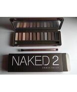 Urban Decay Naked2 Naked 2 Eye Shadow Palette 12 Colors Cosmetic - $23.50