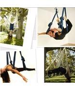 Yoga Swing Sling Trapeze Hammock For Gym Yoga Pilates Tension - $129.99