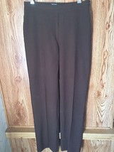 Karen Kane Womens Dress Pants Size 10 Brown Excellent Condition Style L6... - $228,22 MXN