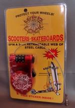 WEB LOCK: Scooter/Skateboard /Stroller Protect Your Wheels Lock  - $5.79