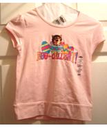 Girls Pink Egg-cellent! Kitten Easter T-Shirt S... - $9.99