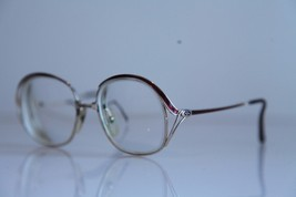 Vintage CHRISTIAN DIOR Eyewear, Gold Frame,  RX-Able Prescription lens. ... - $49.01