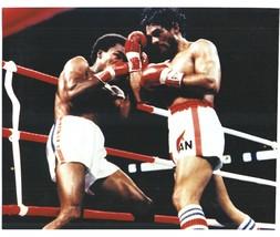Roberto Duran Sugar Ray Leonard 1980 Vintage 8X10 Color Boxing Memorabilia Photo - $6.99