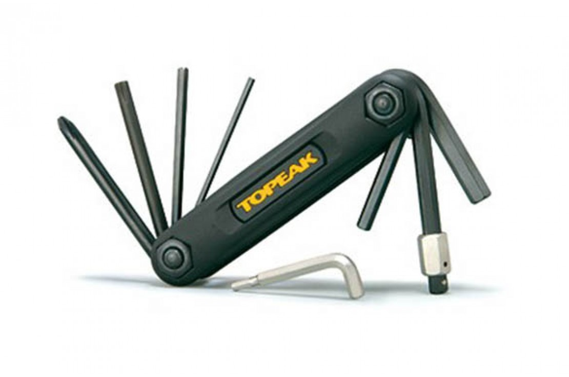 Topeak X-Tool 10 functions Bicycle Folding Mini Multi-tool, Black, BRAND NEW