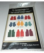 Sewing Pattern Expanded Variable Vest Sz 8-24 Konchinsky Critter Pattern... - $14.99