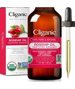 Cliganic Organic Rosehip Seed Oil, 100% Pure - $14.95