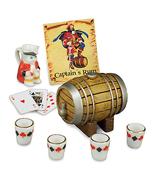 DOLLHOUSE Captain's Rum Set 18098 Reutter Toby Jug Barrel Miniature 2015 - $18.50
