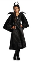 DISNEY MALEFICENT CHRISTENING BLACK GOWN CHILD DELUXE MOVIE COSTUME COSP... - $633,98 MXN