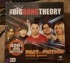 NEW The Big Bang Theory Fact or Fiction Trivia Board Game from Cardinal 21088 - $8.42