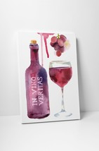 """In Vino Veritas Kitchen Wall Art Gallery Wrapped Canvas. 30""""x20 or 20""""x16"""" - $44.50+"""
