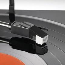 Audio Technica Automatic Stereo Belt Drive Turntable Record Player LP60 USB image 3