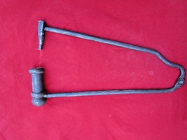 Old Antique Heavy & Solid Wrought Iron Gunpowder Cracker Kids Toy Collec... - $390.27
