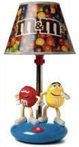 M&M Table Lamp With Night Light New In Box - $59.97