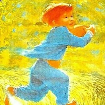 """""""Touchdown"""" Carefree Days Plate Collection by  Thornton Utz AA20-CP2323 Vintage image 2"""