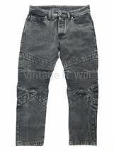 Diesel Mens 34 Black Wash P Sleenker Slim Skinny Leg Cropped Jeans Moto ... - $158.00