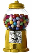 "KURT ADLER 3.5"" RESIN YELLOW GUMBALL MACHINE CHRISTMAS ORNAMENT - $9.88"