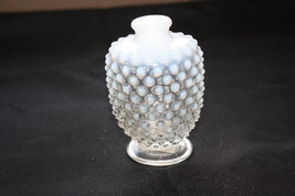 Old Fenton Glass Co. Hobnail Opalescent Perfume Bottle - $60.00