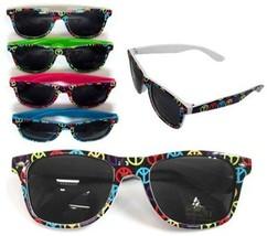 Peace Sign Frame Sunglasses - $5.23