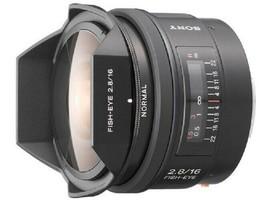 Sony SAL16F28 16mm F2.8 Fisheye Lens for A Mount - $763.98