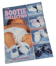 Bootie Collection 10 Crochet Designs by Kay Meadors Leisure Arts Booklet... - $12.76