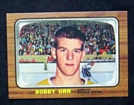 1966/67 Topps Hockey #35 Bobby Orr [Boston Bruins] Rookie Reprint - $3.75