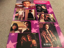 Leonardo Dicaprio Hanson teen magazine poster clipping multi pictures youg old