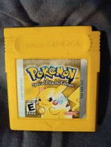 Nintendo Game Boy POKEMON Yellow version game - Catrirdge Only - $19.71