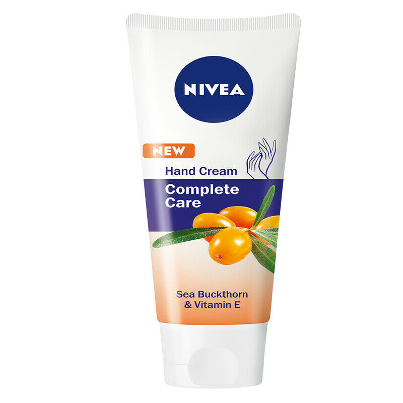 Nivea Hand-Cream Protective Care-with,Buckthorn,Vitamin-E-75ml.