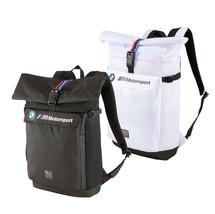 BMW M Motorsport Puma Roll Top Bag Utility Lifestyle Backpack 076897-01 image 1