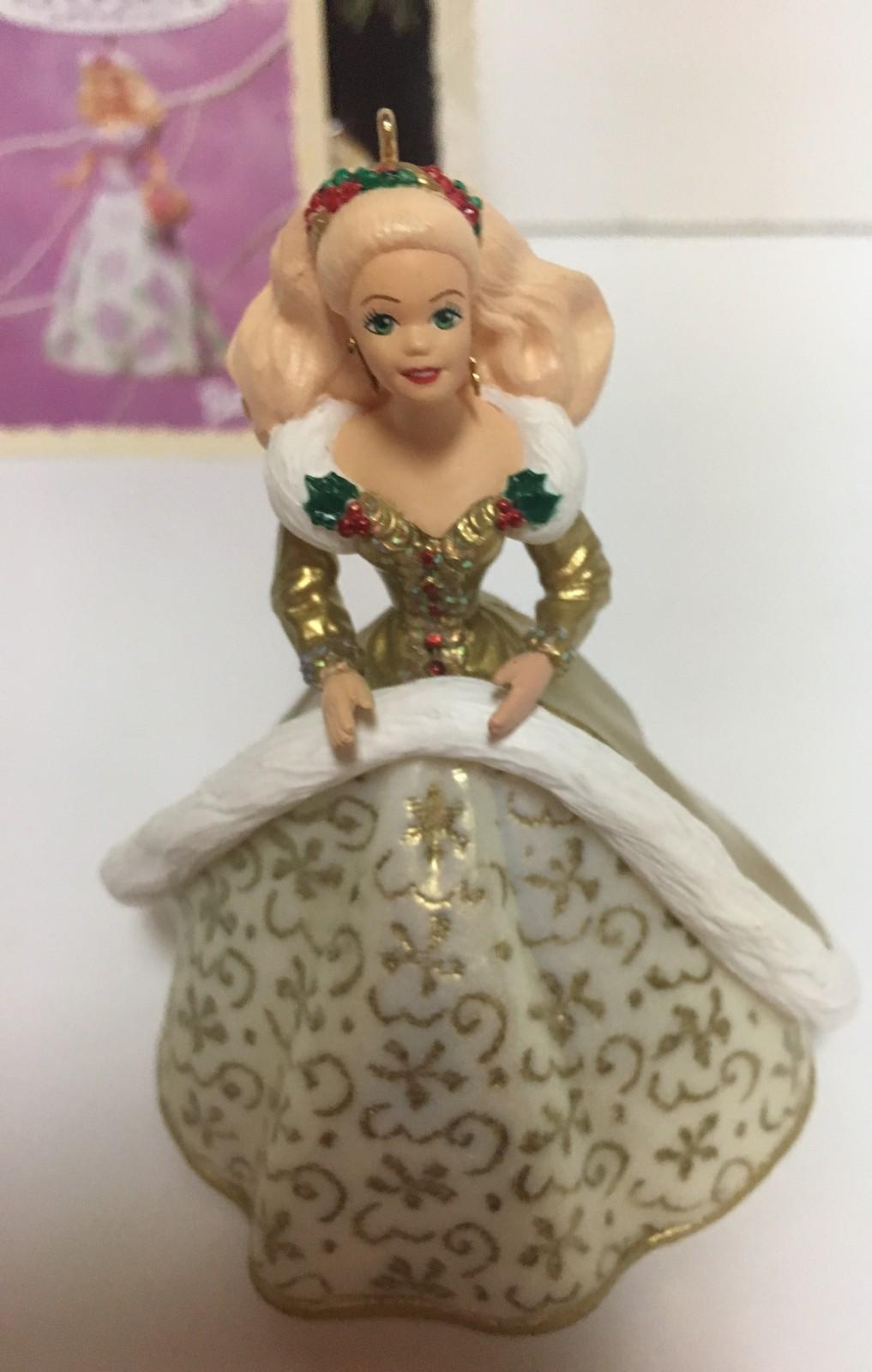 Hallmark 1994 Barbie Collector Series Holiday Ornament
