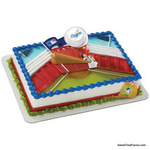 DODGERS Los Angeles Baseball MLB Cake Topper Decoration Supplies Sports ... - $10.85