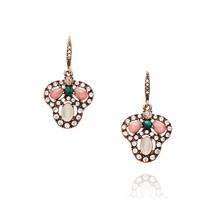 Floral Vintage Earrings for Women Fashion Indian Jewelry Pending Hook Ea... - $8.07