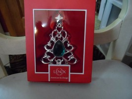 Lenox American by Design  Gemmed Tree Ornament New In Original Box - $15.00