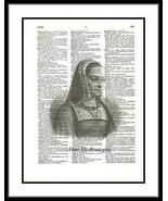 De Bretagne Queen Consort France Dictionary Art frenchtheme007 - $10.99