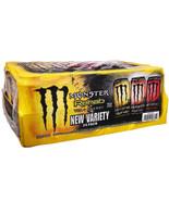 Monster Energy Drink Rehab Tea Variety Pack Peach Lemonade Raspberry 24 ... - $44.54