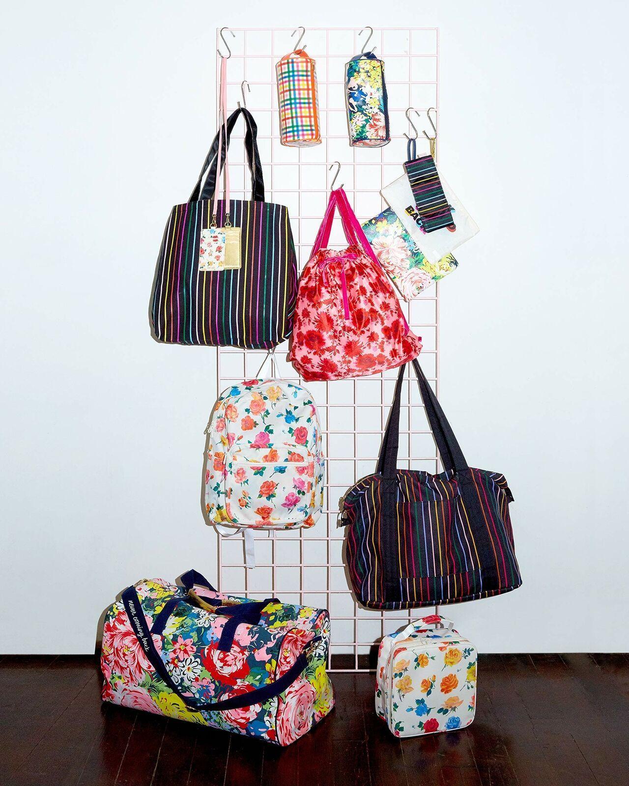 "Ban.do Deluxe Reusable Canvas Tote Eco Bag Measures 19.25"" x 15"" with Interio... image 3"