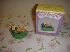 Hallmark 1996 Merry Miniatures Easter Egg Hunt - $6.59