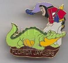 Captain Hook and TicToc  Peter Pan Florida Jaycees Disney pin - $89.99
