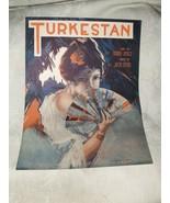 1919 TURKESTAN Sheet Music Jack Stern Words Bobby Jones Broadway Music Corp - $10.00