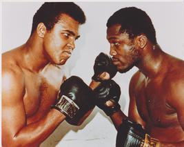 Muhammad Ali Joe Frazier Manila Vintage 8X10 Color Boxing Memorabilia Photo - $6.99