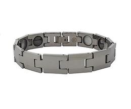 QBT10 Dalimara Sakai Classic Tungsten Energy Bracelet - Plain - $39.95