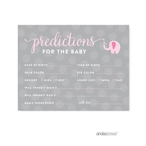 Andaz Press Girl Elephant Baby Shower Collection, Games, Activities, Dec... - ₹1,147.82 INR