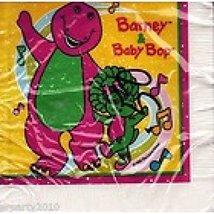 Barney Vintage Small Napkins (16ct) - $15.79