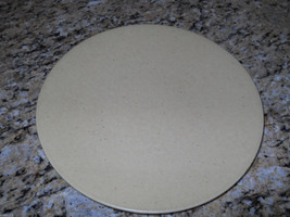 "Pier 1 Pier1 Beige Natural Speckle 11"" Dinner Plate - $8.86"