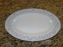 """Wedgwood White Dolphins R4652 15 1/4"""" Serving P... - $92.02"""