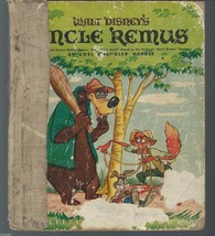 Walt Disney's Uncle Remus.Retold By Marion Palmer;Bob Grant,ill.;LGB 194... - $15.97