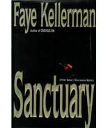 FAYE  KELLERMAN  *  SANCTUARY  *  HARDCOVER  BOOK - $2.99