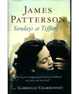 JAMES   PATTERSON   * SUNDAYS  AT TIFFANY *  HARDCOVER BOOK - $2.99