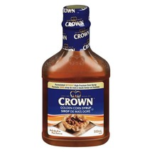 Crown Golden Corn Syrup From Canada -500 ML/16.9oz - FRESH & DELICIOUS - $15.59